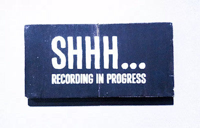 Travel tips - Put up a recording in progress do not disturb sign