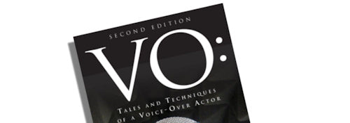 VO: Tales and Techniques of a Voice-Over Actor  Book Review by Tracy Lindley