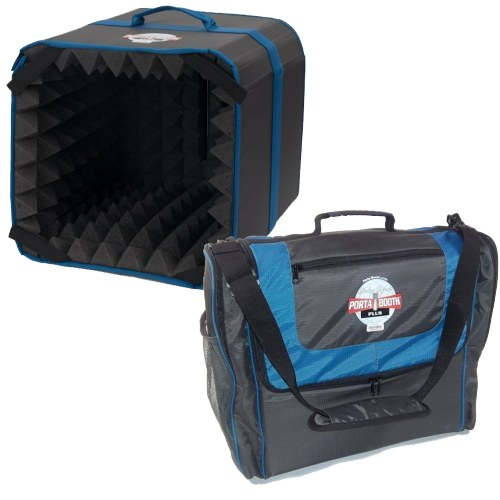 Porta-Booth Plus & Carry-On Travel Bag Combo