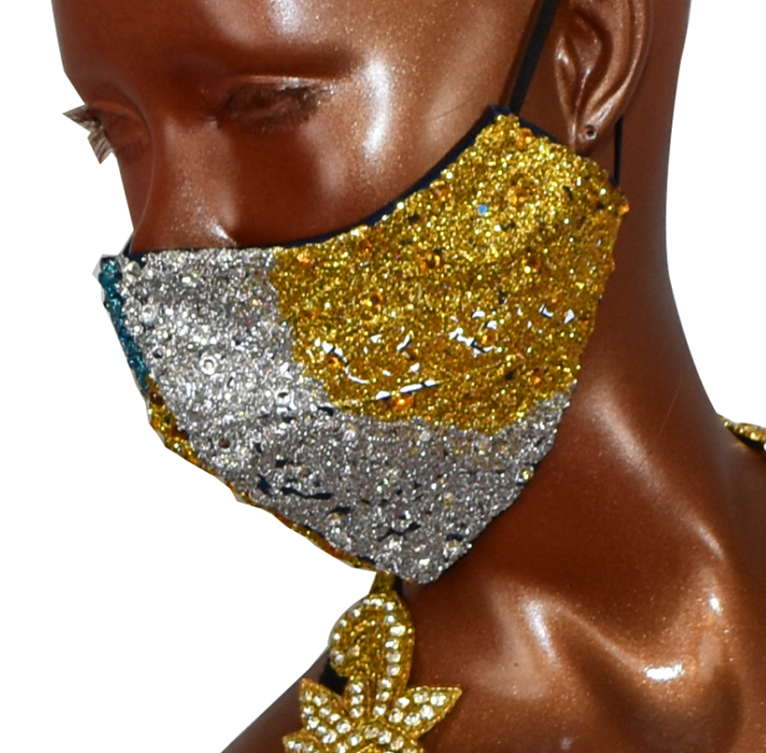 Competition Face Mask - Gold