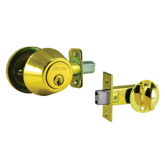 Single cylinder deadbolt