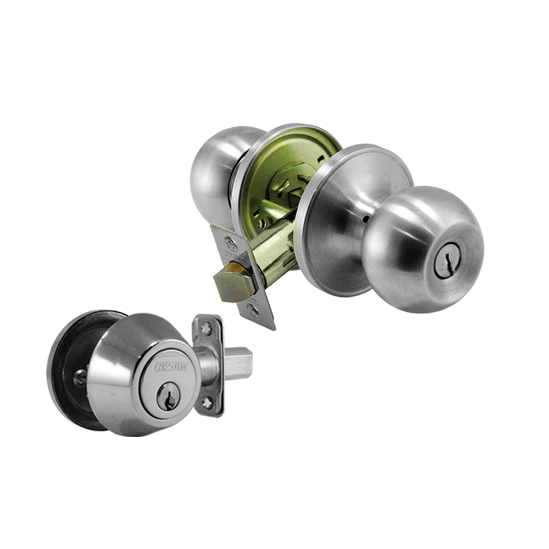 Combo lockset