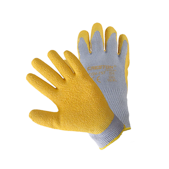 Rubber-coated gloves