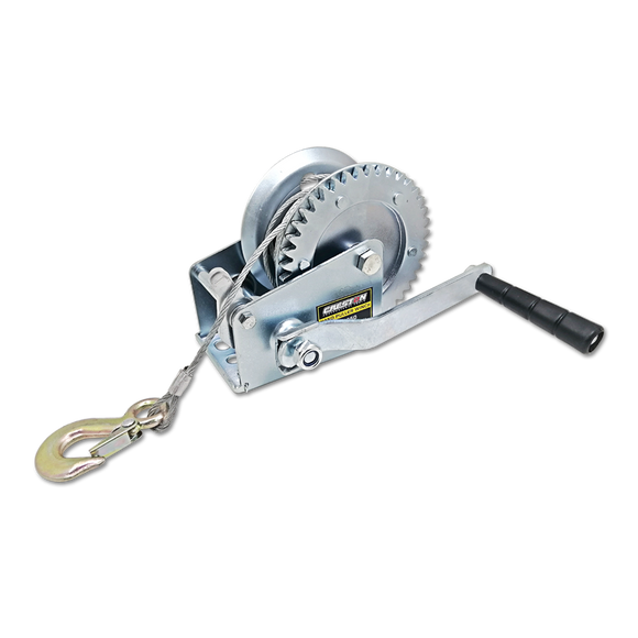 Hand puller winch