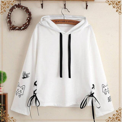 Sweatshirts Japan Little Kitty - Miss Glamour