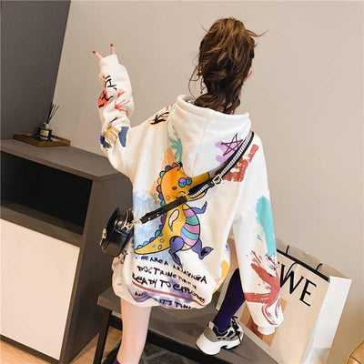 Japanese Sweatshirt Dragon - Miss Glamour