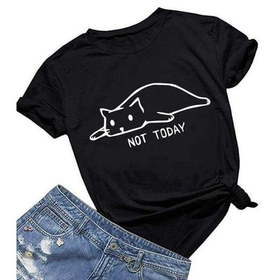 "T-shirt "" Not Today"" - Miss Glamour"