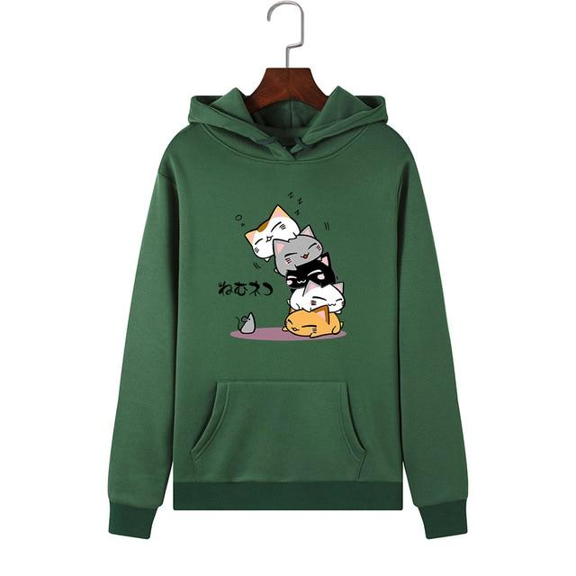 Pull-over Kawaii Cat - Miss Glamour