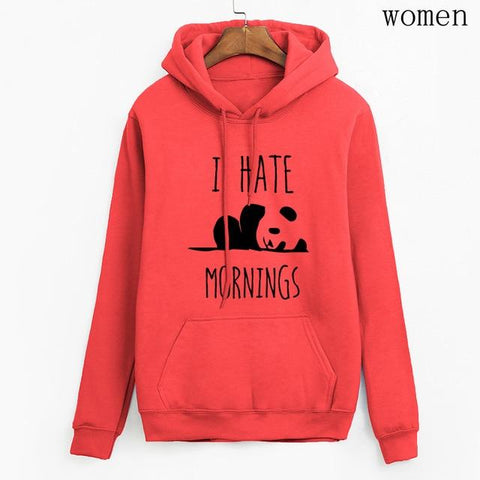 "Hoodies ""I Hate Mornings"""