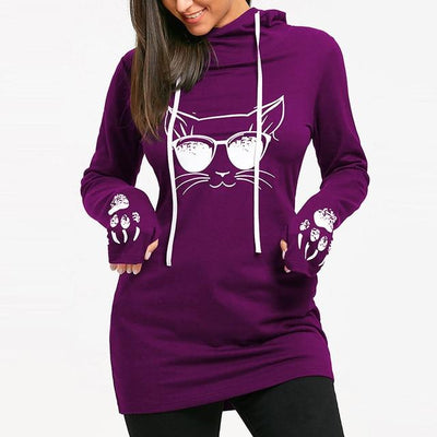 Sweatshirts Style Décontracté Cartoon - Miss Glamour
