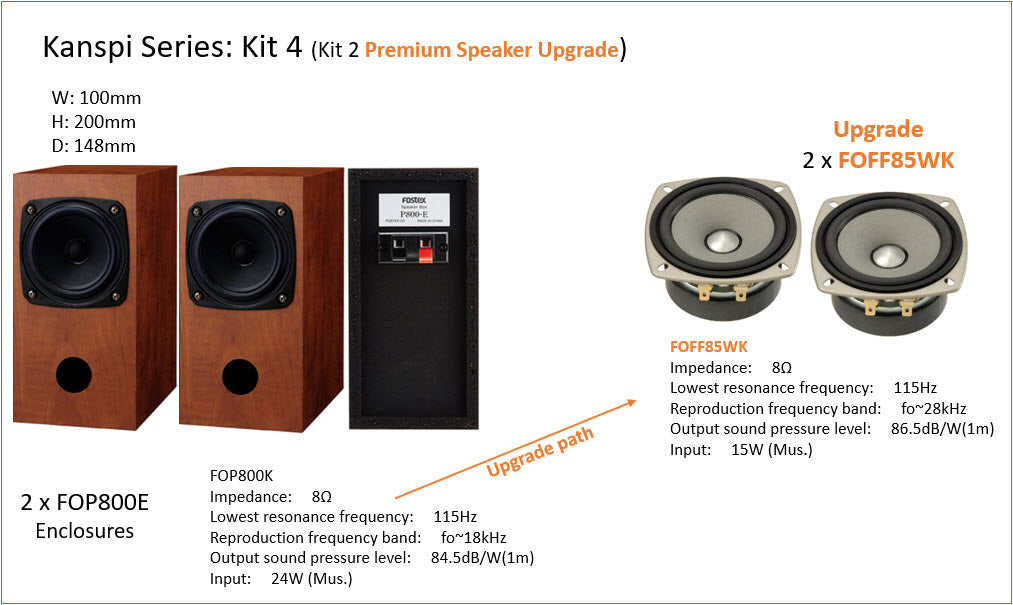 Fostex Kanspi DIY Kit 4.