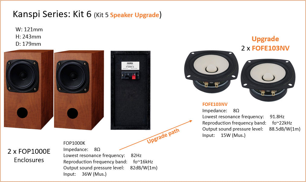 Fostex Kanspi DIY Kit 6
