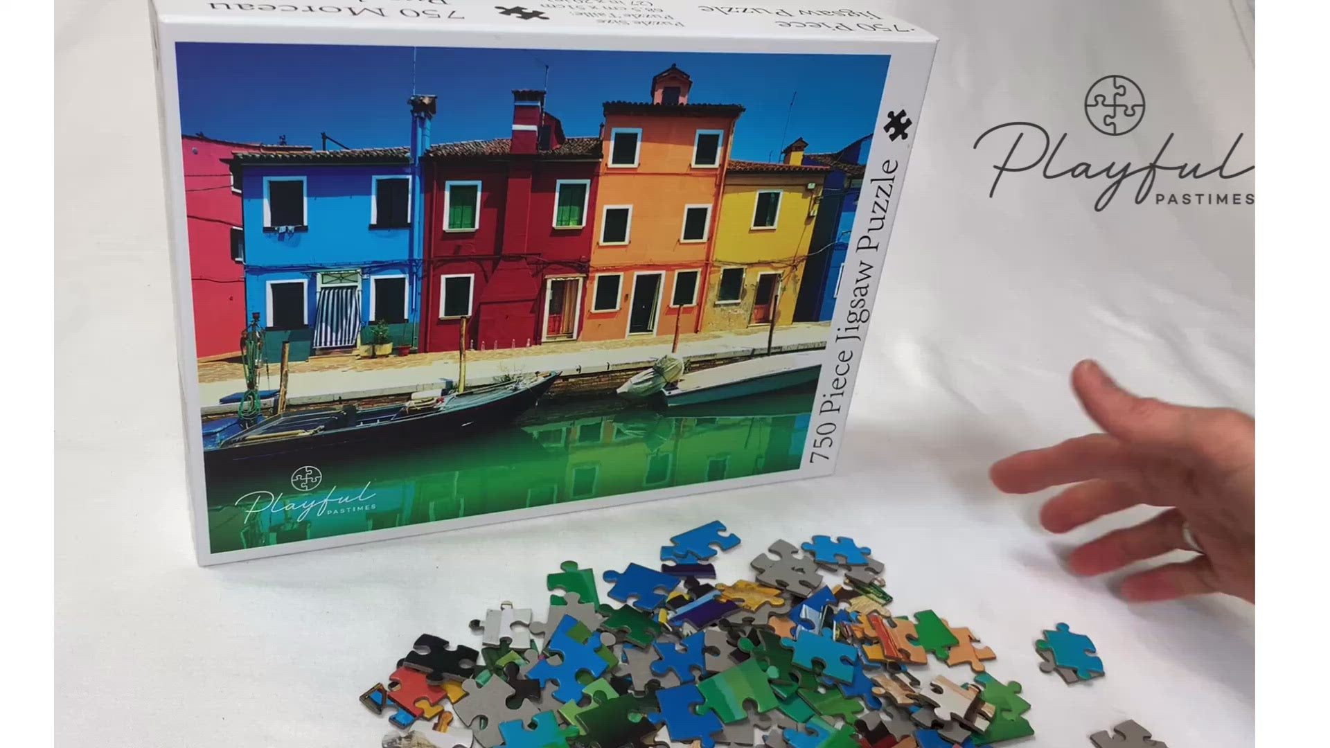 Venice Canal - Jigsaw Puzzle (750 pieces)