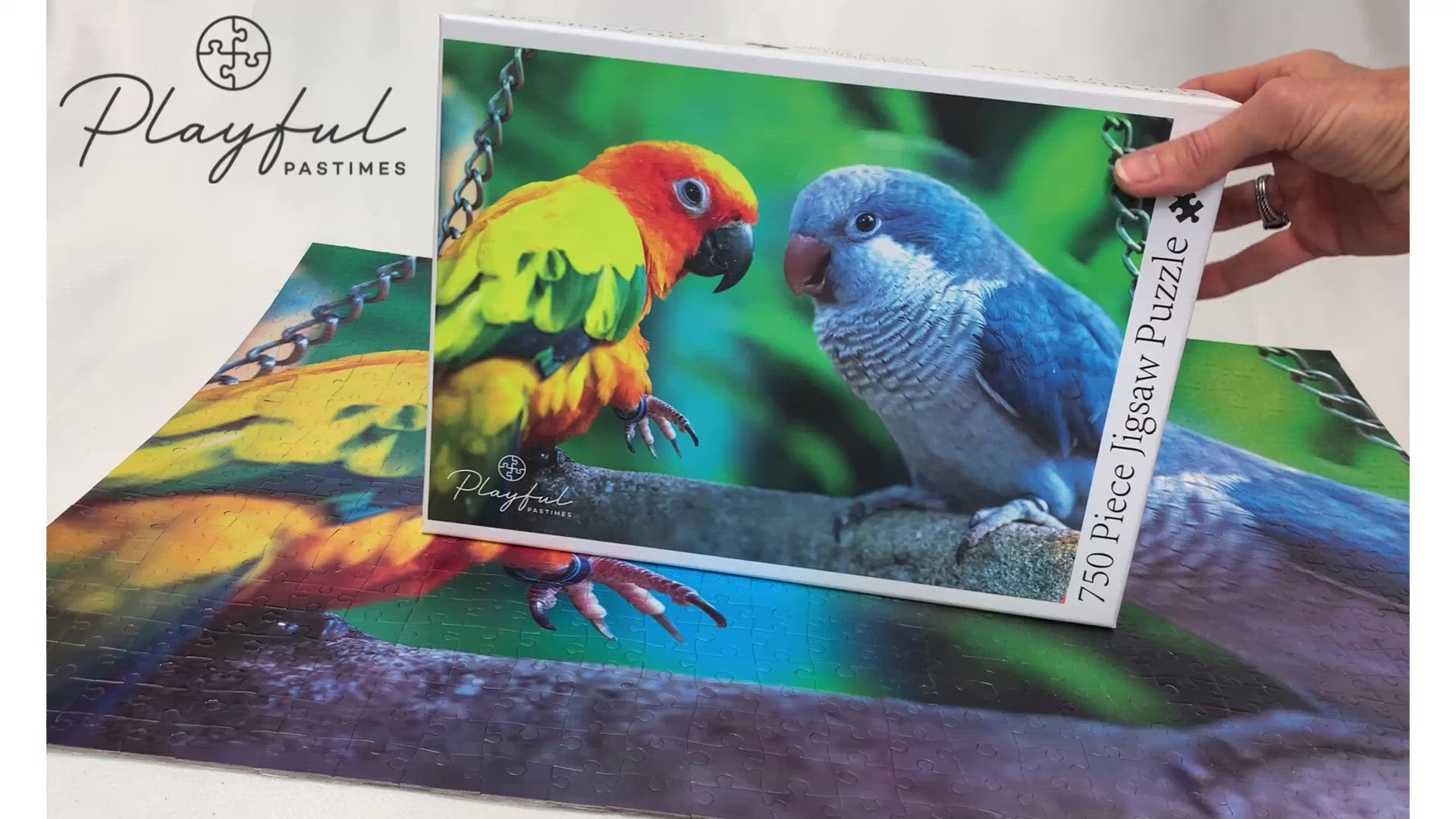 Parrots - Jigsaw Puzzle (750 pieces)