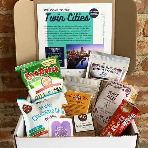 Twin Cities City Snack Pack