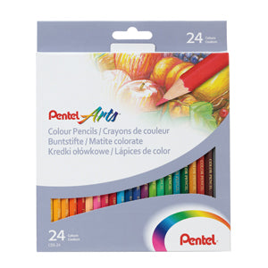 Pentel Colour Pencil Set