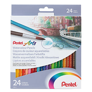 Pentel Watercolour Pencil Set