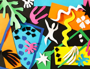 Henri Matisse Paper Cut-outs Collage Home Kit