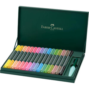 Faber-Castell Albrecht Dürer Watercolour Marker, gift set of 16 inclu. Water Brush