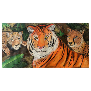 Ferocious Cats Canvas Print