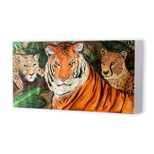 Load image into Gallery viewer, Ferocious Cats Canvas Print