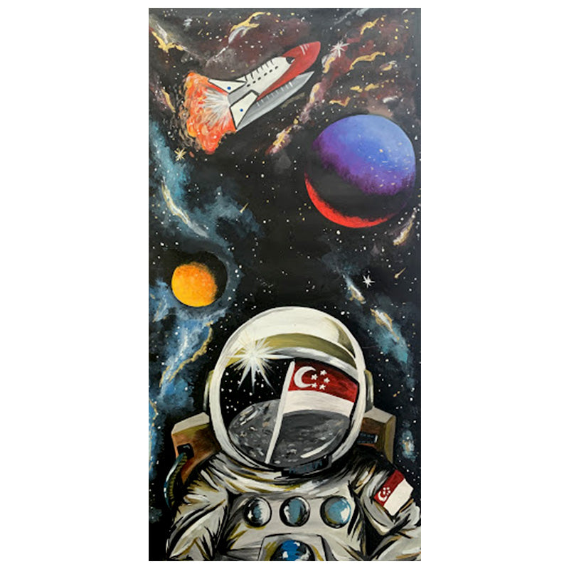 Space Adventures Canvas Print