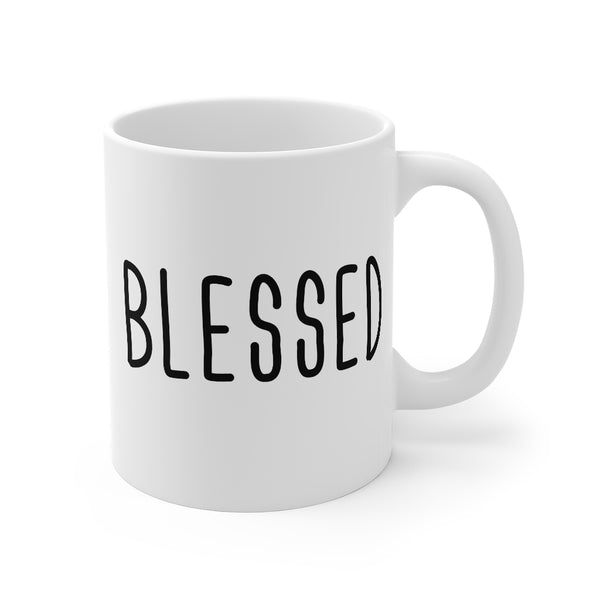 Blessed, Coffee, Cup, Mug