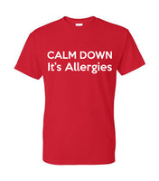 allergies,calm down, covid
