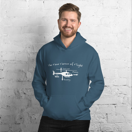 The Four Forces Of Flight Hoodie