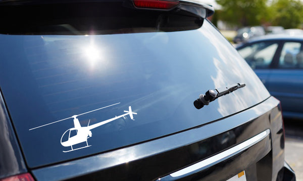 Helicopter Decal R22