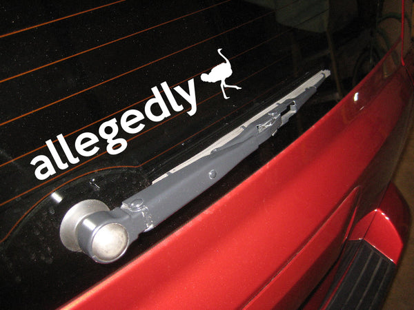 Allegedly Decal