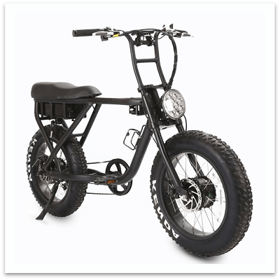 Type #3 -Fat Tired Electric Scooters