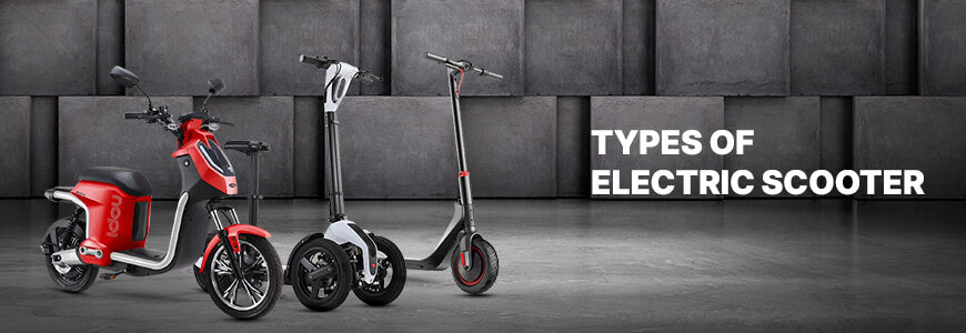 Which are the Most Popular Types of Electric Scooters?