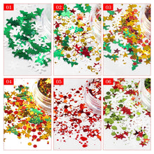 Load image into Gallery viewer, Christmas Glitter Set - 6 pack