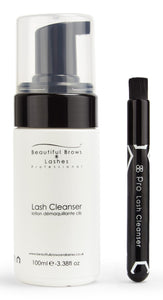 Beautiful Brows & Lashes Lash Cleanser & Brush Set