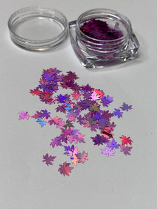 Maple Leaf Glitter