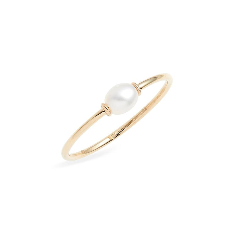 POPPY FINCH Petite Keshi Pearl Ring