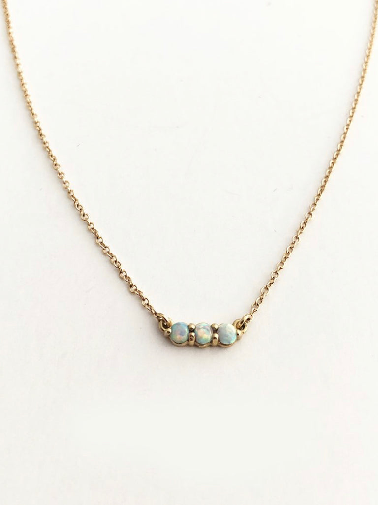 The Right Hand Gal-Opal Bar Necklace