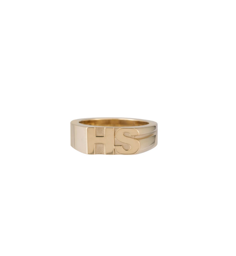 ARIEL GORDON Moniker Ring