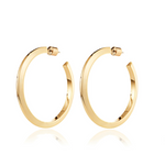 JENNY BIRD - Toni Hoops - Large, Gold