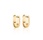 JENNY BIRD - Teeni Toni Huggie Earrings, Gold