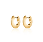 JENNY BIRD - Toni Hinged Hoop Earrings Small, Gold