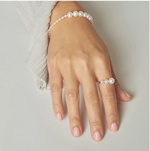 POPPY FINCH - Gradual Pearl Ring