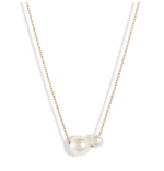 POPPY FINCH - Double Pearl Necklace