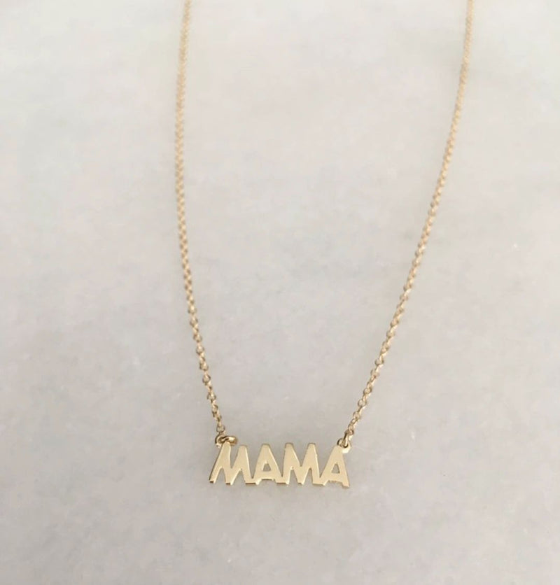 The RIght Hand Gal-Mama Necklace