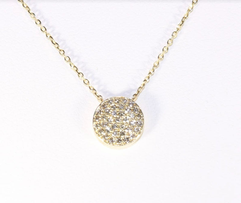14K Yellow Gold with Diamond