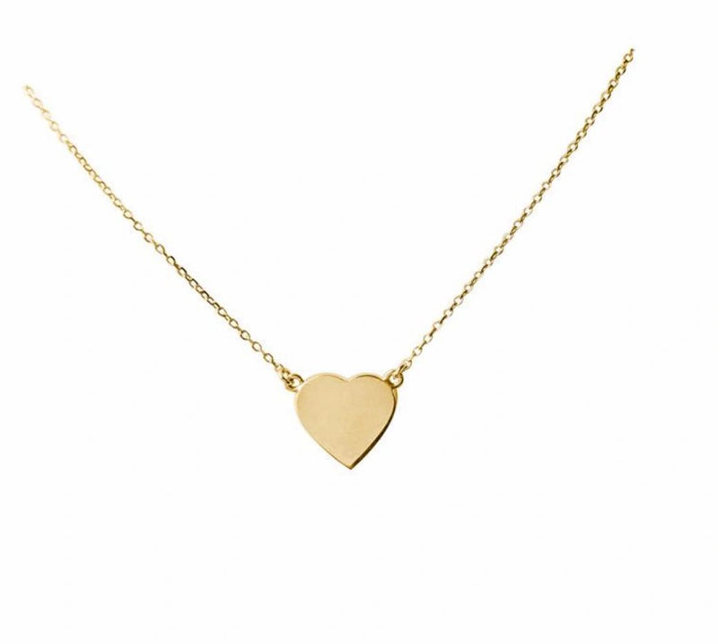 The Right Hand Gal-Simple Heart Necklace