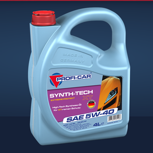 Produktbild 4 Liter PROFI-CAR SYNTH-TECH XT SAE 5W-40 Synthetisches PKW Motorenöl PROFI-CAR Online Shop