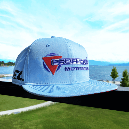 Bild PROFI-CAR Online Shop PROFI-CAR TEAM LEIB Snapback Cap hellblau Original Teamwear Motorsport
