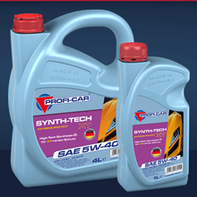 Laden Sie das Bild in den Galerie-Viewer, Produktbild PROFI-CAR SYNTH-TECH XT SAE 5W-40 Synthetisches Motorenöl 1 Liter und 4 Liter PROFI-CAR Online Shop